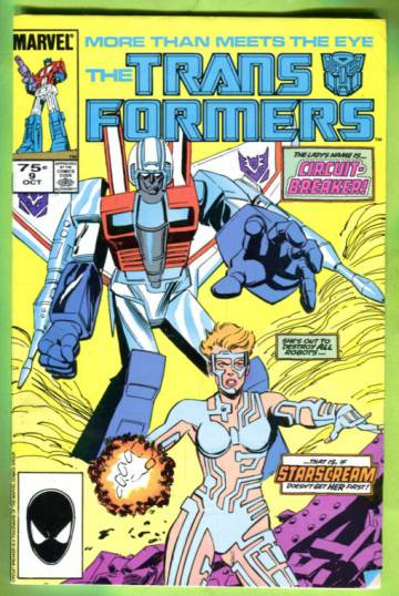The Transformers Vol 1 #9 Oct 85