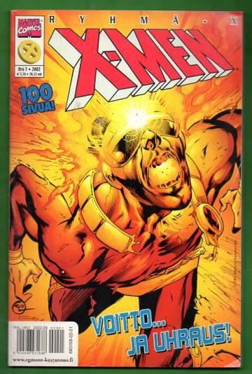 X-Men 1/02 (Ryhmä-X)