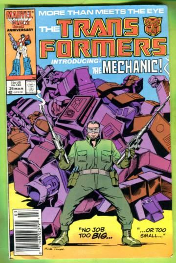 The Transformers Vol 1 #26 Mar 87