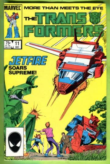 The Transformers Vol 1 #11 Dec 85