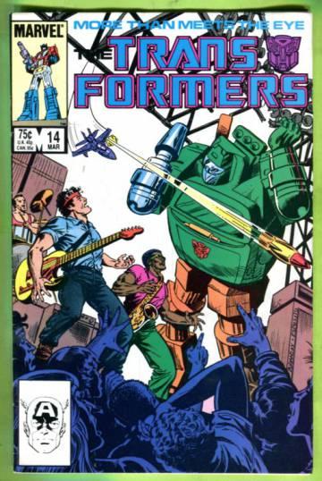 The Transformers Vol 1 #14 Mar 86