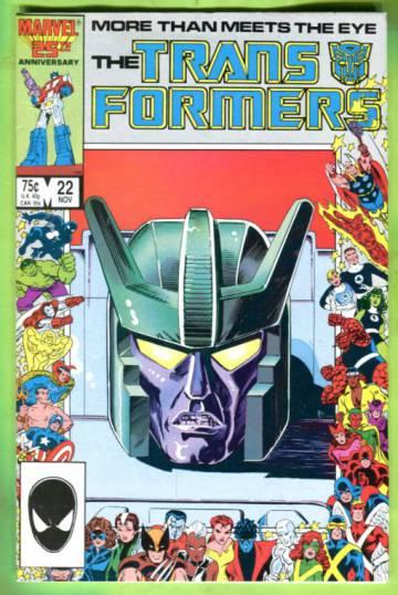 The Transformers Vol 1 #22 Nov 87