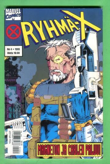 Ryhmä-X 4/95 (X-Men)