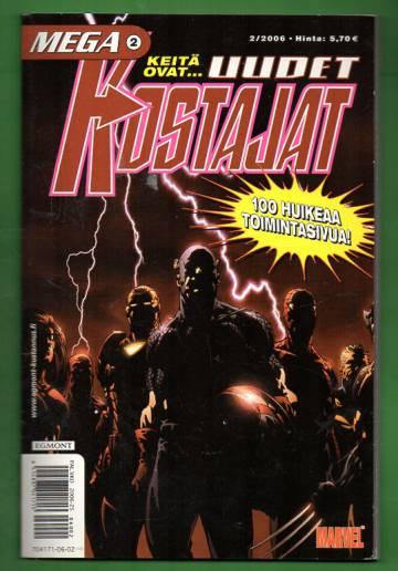 Mega 2/06 - Uudet kostajat (Mega-Marvel)