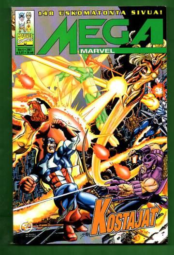 Mega-Marvel 4/01 - Kostajat