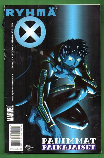 X-Men 1/04 (Ryhmä-X)
