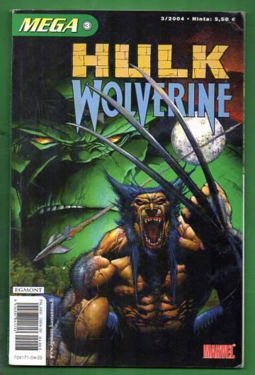 Mega 3/04 - Hulk & Wolverine (Mega-Marvel)