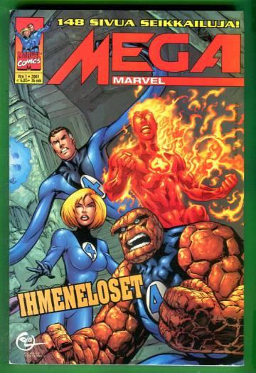 Mega-Marvel 1/01 - Ihmeneloset
