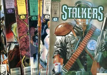 Stalkers -paketti (numerot 1-6,8 ja 9)
