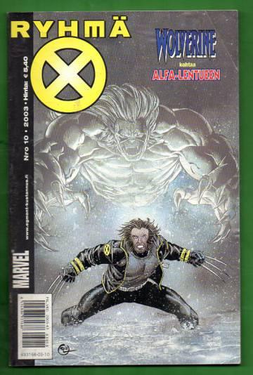 X-Men 10/03 (Ryhmä-X)