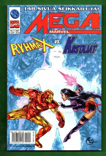 Mega-Marvel 3/01 - Ryhmä-X vastaan Kostajat