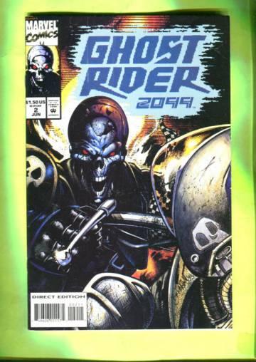 Ghost Rider 2099 Vol 1 #2 Jun 94