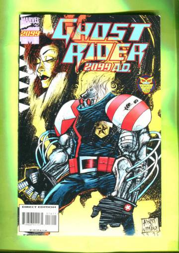 Ghost Rider 2099 Vol 1 #16 Aug 95