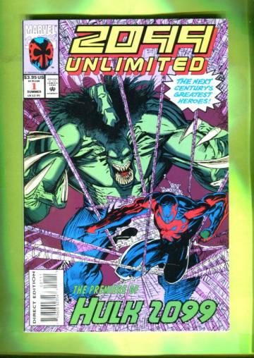 2099 Unlimited Vol 1 #1 Jul 93