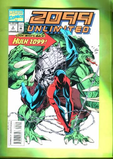 2099 Unlimited Vol 1 #2 Oct 93