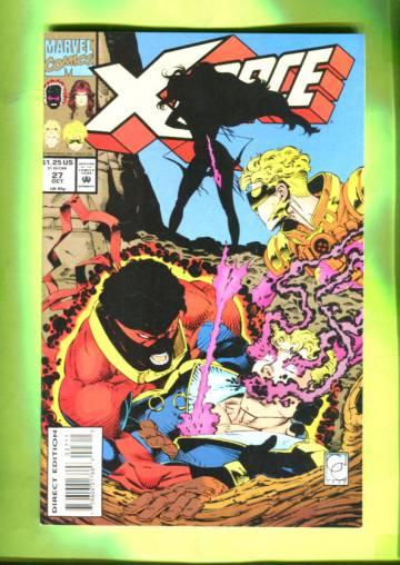 X-Force Vol 1 #27 Oct 93