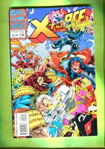 X-Force Annual Vol 1 #2 1993
