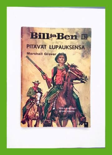 Bill ja Ben 57 - Pitävät lupauksensa