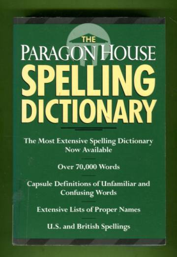 The Paragon House Spelling Dictionary
