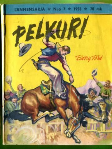 Lännensarja 7/58 - Pelkuri