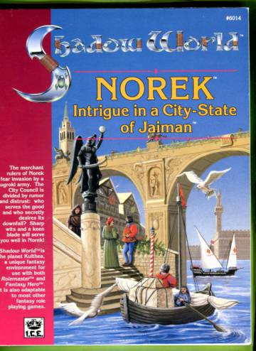 Shadow World - Norek: Intrigue in a City-State of Jaiman
