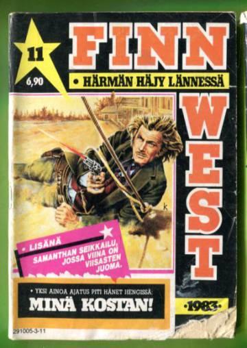 Finn West 11/83 - Minä kostan!