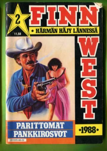 Finn West 2/88 - Parittomat pankkirosvot