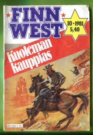 Finn West 10/81 - Kuoleman kauppias
