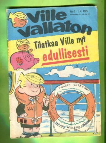 Ville Vallaton 7/75