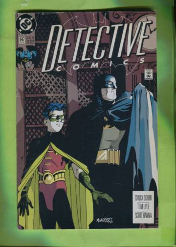 Detective Comics #647 Early Aug 92
