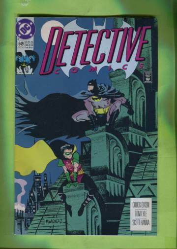 Detective Comics #649 Early Sep 92