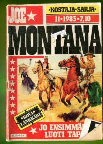 Joe Montana 11/83 - Jo ensimmäinen luoti tappaa