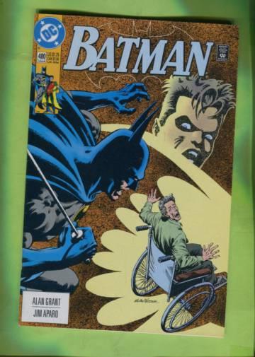 Batman #480 Late JUn 92