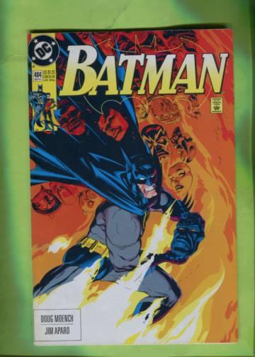 Batman #484 Sep 92