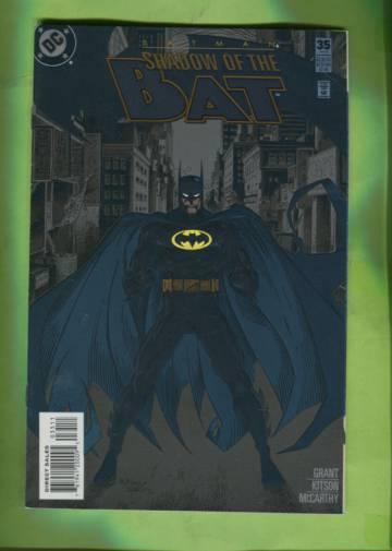 Batman: Shadow of the Bat #35 Feb 95