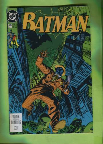 Batman #485 Oct 92