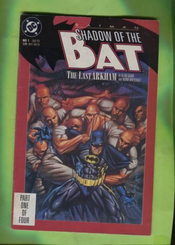 Batman: Shadow of the Bat #1 Jun 92