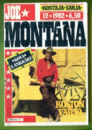 Joe Montana 12/82 - Koston varjo