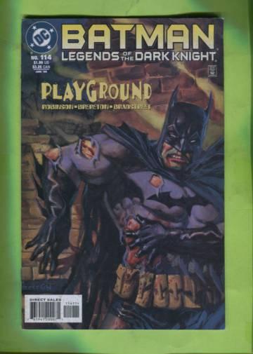 Batman: Legends of the Dark Knight #114 Jan 99