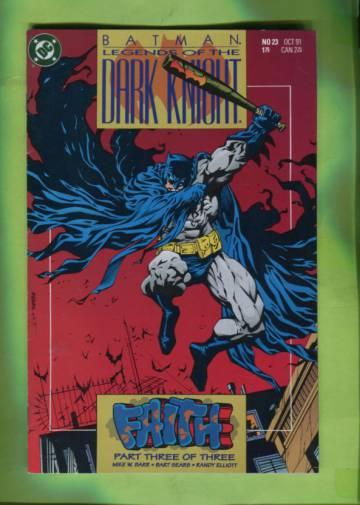 Batman: Legends of the Dark Knight #23 Oct 91