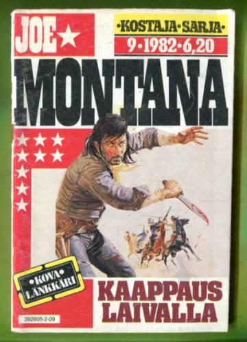 Joe Montana 9/82 - Kaappaus laivalla