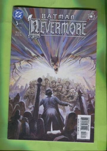 Batman: Nevermore #3 Aug 03