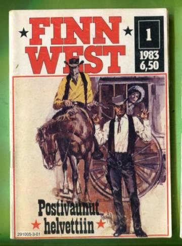 Finn West 1/83 - Postivaunut helvettiin