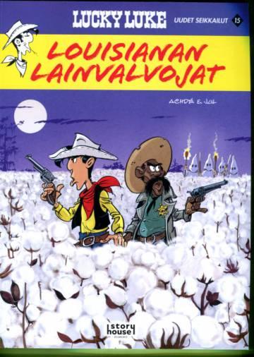 Lucky Luken uudet seikkailut 15 - Louisianan lainvalvojat
