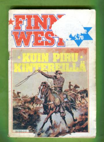 Finn West 1/82 - Kuin piru kintereillä