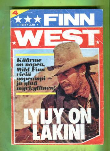 Finn West 4/78 - Lyijy on lakini