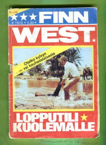 Finn West 9-10/78 - Lopputili kuolemalle