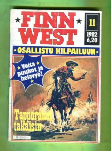 Finn West 11/82- Tapporahat takaisin