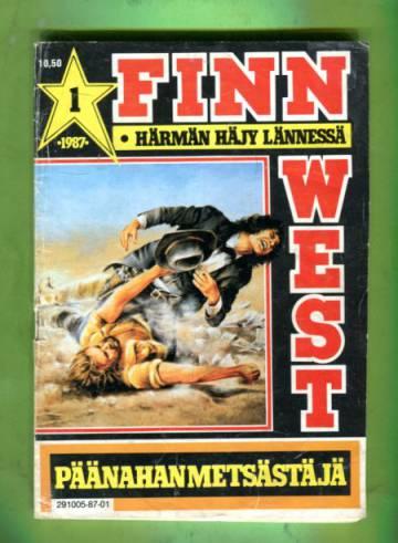 Finn West 1/87 - Päänahanmetsästäjä