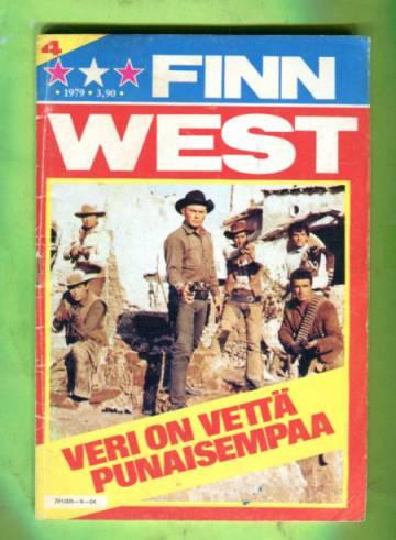Finn West 4/79 - Veri on vettä punaisempaa